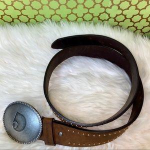 "Carhartt Leather Belt 34"""